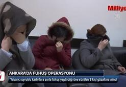 Ankarada fuhuş operasyonu
