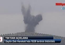 TSK: Zeytin Dalı Harekatında 1028 terörist öldürüldü