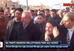 Başbakan Yıldırım, Zerdeşt Miroğlunun cenaze namazı için Mardine gitti