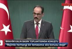 Cumhurbaşkanlığı Sözcüsü İbrahim Kalın, basın toplantısında konuştu