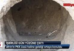 PKK ile PYD işbirliği teröristlerden arındırılan yerlerde gün yüzüne çıkıyor