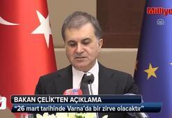 AB Bakanı Ömer Çelik açıklamalarda bulundu