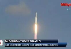Falcon Heavy uzaya fırlatıldı