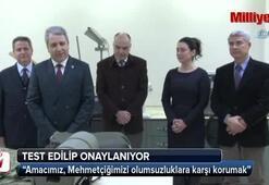 Mehmetçiğin kıyafet ve teçhizatları Ege Üniversitesinde analiz ediliyor