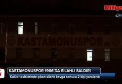Kastamonuspor 1966'da silahlı saldırı: 2 yaralı