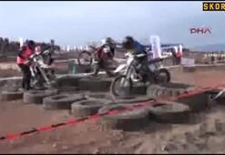 Kumlucada Kum Enduro Yarışları heyecanlandırdı
