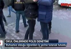 İstanbul'da okul önlerinde polis denetimi
