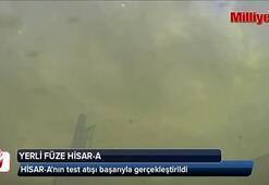Yerli füze HİSAR-Anın test atışı gerçekleştirildi
