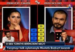O Ses Türkiye Mustafa Bozkurt oldu