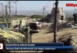Mehmetçik Burseya Dağına üs kuruyor