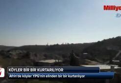 Afrinde köyler YPGnin elinden bir bir kurtarılıyor