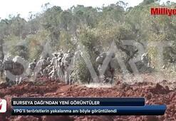 YPGli teröristlerin yakalanma anı kamerada