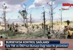 TSK ve ÖSO birlikleri Burseya Dağında