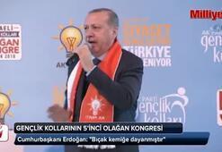 Cumhurbaşkanı Erdoğan AK Parti Kocaeli Gençlik Kollarının Olağan Kongresinde konuştu