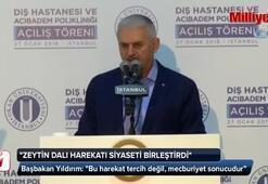 Başbakan Binali Yıldırım Tuzlada hastane açılışında konuştu
