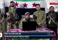 Afrinli Kürt askerler ÖSOya katıldı