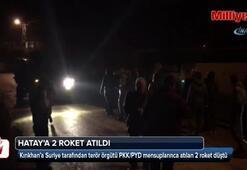 Kırıkhan'a 2 roket düştü
