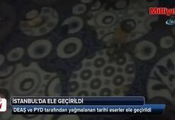 Yağmalanan tarihi eserler İstanbul'da ele geçirildi
