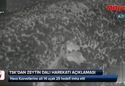 TSKdan Zeytin Dalı harekatı ile ilgili son dakika açıklaması