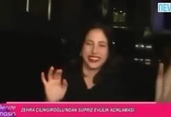 Zehra Çilingiroğludan olay açıklama