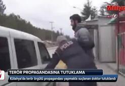 Terör propagandasına tutuklama