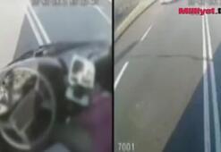 Şoför direksiyonda bayıldı, kadınlar koştu