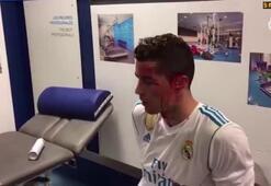 Ronaldonun kanlar içindeki görüntüleri yayınlandı