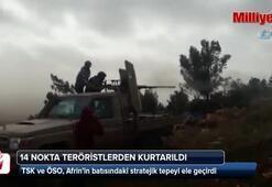 3. günde 14 nokta teröristlerden kurtarıldı