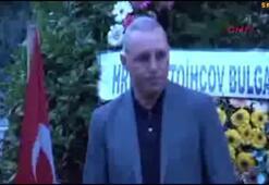 Ünlü Bulgar futbolcu Stoichkovdan Süleymanoğlunun kabrine ziyaret...