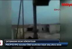 ÖSO PYD çatışmasından sıcak görüntüler