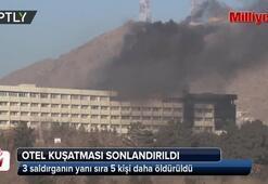 Afganistanda otel kuşatması sonlandırıldı