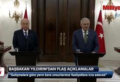 Başbakan Yıldırımdan Afrin açıklaması