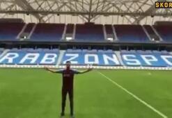 Trabzonsporun yeni transferi Novak imzayı attı