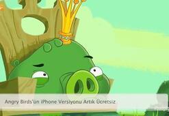 Angry Birdsün iPhone Versiyonu Artık Ücretsiz