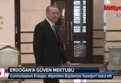 Cumhurbaşkanı Erdoğan, Afganistan Büyükelçisi Sayedjani kabul etti