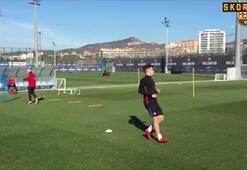 Philippe Coutinho çalışmalara başladı