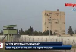 TSK terör örgütüne ait mevzileri top atışına tuttu