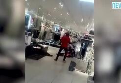 Güney Afrikada H&M mağazalarına böyle saldırdılar