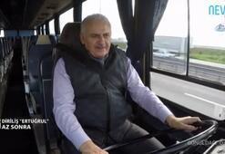 Başbakan Yıldırım, 1978 model otobüsün koltuğuna geçti -2-