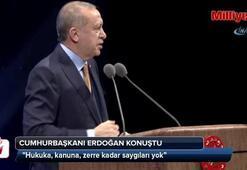 Cumhurbaşkanı Erdoğan Adalet Şurasında konuştu