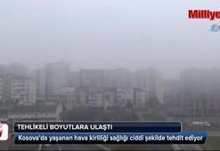 Kosova'da hava kirliliği sağlığı tehdit ediyor
