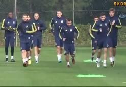 Fenerbahçe'de Josef antrenmanı yarıda bıraktı