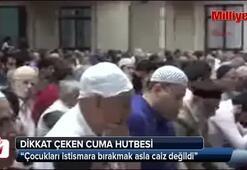 Diyanetten tartışmaların ardından dikkat çeken Cuma Hutbesi
