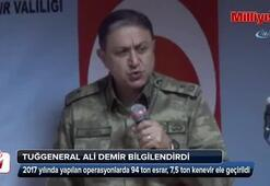 Diyarbakır'da 94 ton esrar ve 7,5 ton kenevir ele geçirildi