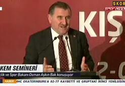 """Osman Aşkın Bak: """"İlk yarı çok çekişmeli geçti."""""""