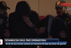 İstanbulda narkotik operasyonu