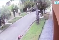 Polisten kaçarken çocuğun hayatını kararttı