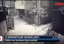 Adana'daki patlamayla ilgili şok görüntüler