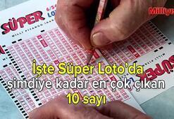 İşte Süper Lotoda şimdiye kadar en çok çıkan 10 rakam