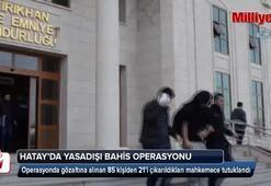 Yasadışı bahis operasyonunda 21 tutuklama